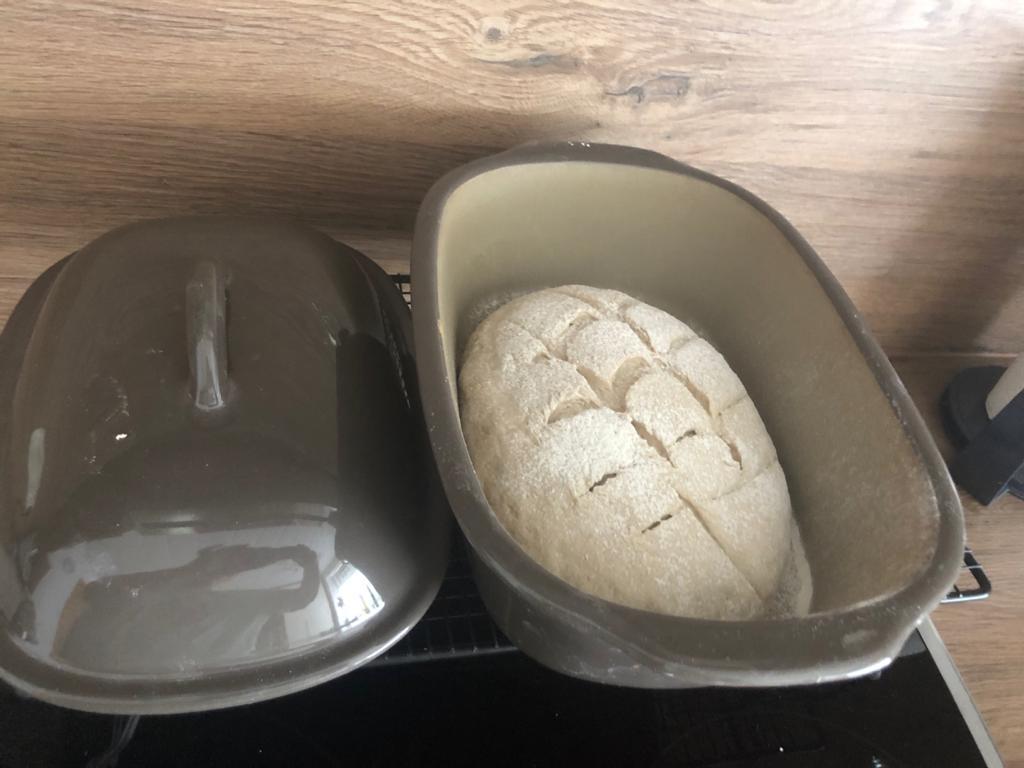 Brotteig im Ofenmeister